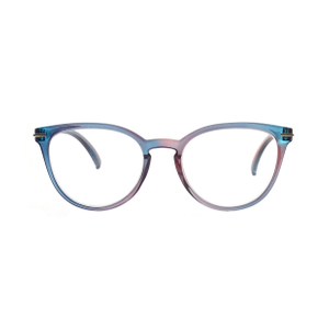 Fashion Ladies Double Color Optical Small Round Glasses Frames LR-P6370
