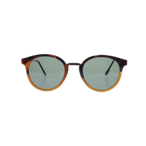 Newest Dedsign Brown Frame Black Lens Mental Tailor-make Unisex Sunglasses LS-P1174
