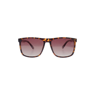 Fashion Wine Red Lens Leopard Frame Ladies Shades PC Sunglasses LS-P7090